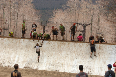 Teamwork can help get you through this gruelling course/supplied from toughmudder.com.au/