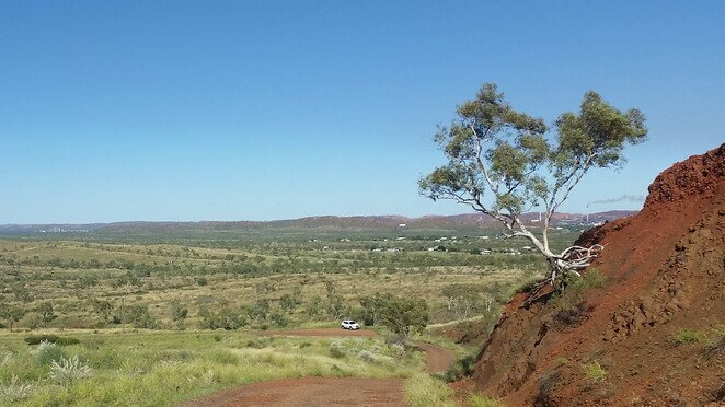 Telstra Hill, free, Mount Isa, outback, Queensland, walking track, running track, photography