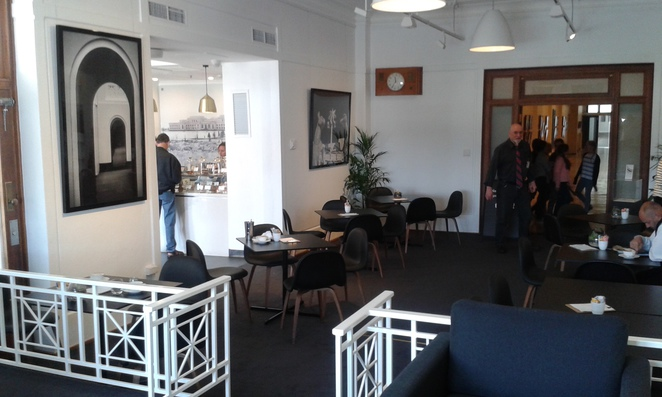 terrace cafe, museum of democracy, old parliament house, canberra, cafes in canberra, breakfast, lunch,
