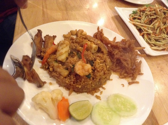 tom yam fried rice empire subang bangkok beat bistro
