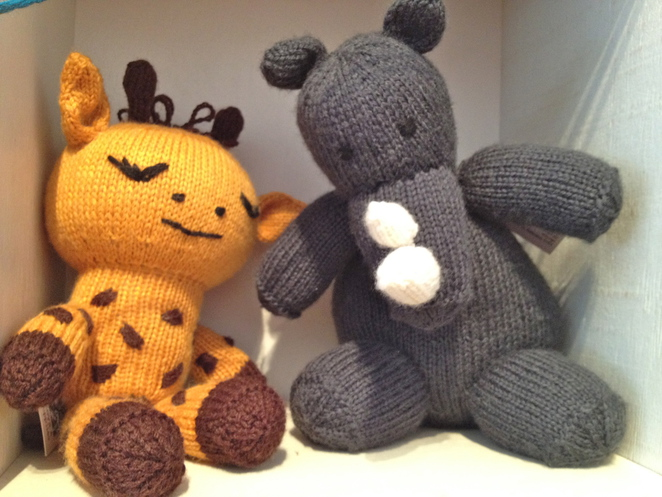 toy shops, knitted toys, little sparrow
