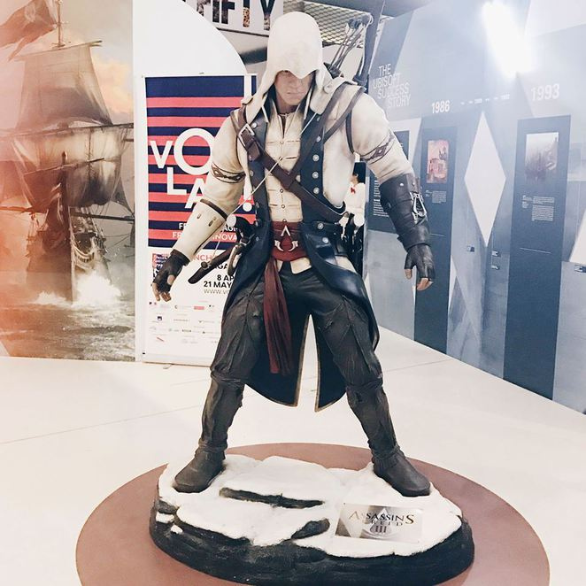 Ubisoft Singapore, Ubisoft, Assassin's Creed, National Design Centre, Sylviane Bahr, Yann Follain, Wyt-o architects, Connor Kenway, Voliah! 2017, Voila Singapore
