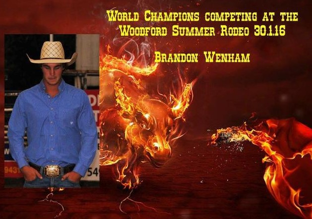 Woodford Summer Rodeo, what's on Moreton shire council