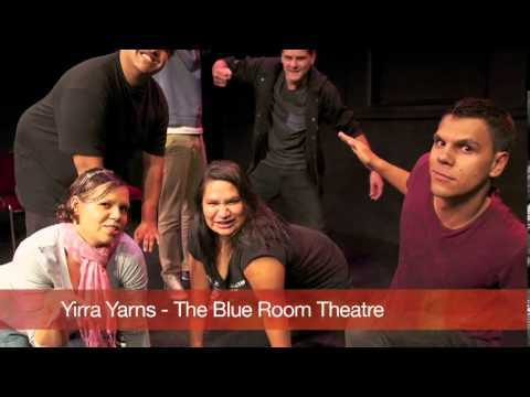 This image is from the Yirra Yaakin Theatre Company website