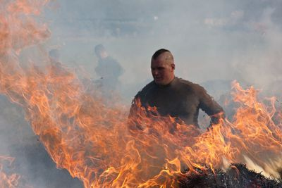 You never know what you'll come across at Tough Mudder <BR>Image supplied from toughmudder.com.au