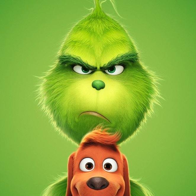 The Grinch, The Grinch 2018, Christmas movies 2018, Christmas films, Dr Seuss, animated films, school holiday films 2018, school holiday movies 2018