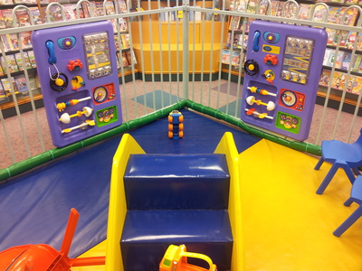 Page's Cafe toddler zone