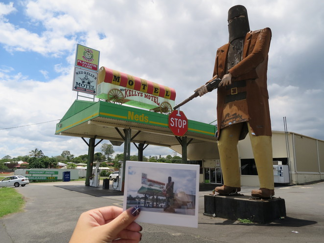 big things, australia, road trip, attraction, tourist, queensland, brisbane, cairns, ned kelly, maryborough, hotel, motel