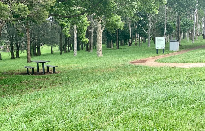 Off-leash, unfenced dog park at Black Gully Park Network