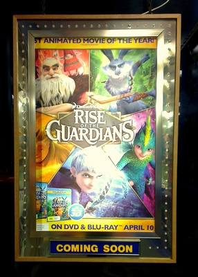 blockbuster, new release movies, rise of the guardians