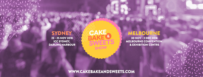cake bake & sweets show 2018, community event, fun things to do, foodie experience, bakers delight, world of baking, the art of cake decorating, dessert, baking advice, baking stars, international convention centre sydney, icc sydney, mcec melbourne, melbourne convention and exhibition centre
