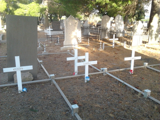 cemetery, St Ann's Cemetery, Aldinga, history, graves, crosses, burial sites, simple grave sites,