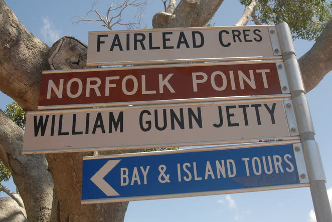 Manly Harbour signs
