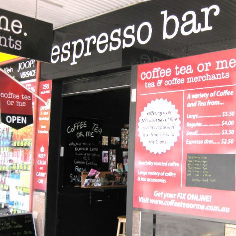 Coffee Tea or Me Espresso Bar Toowoomba