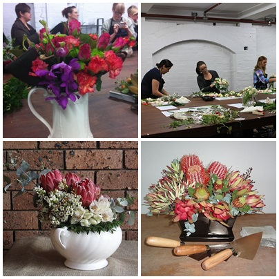 floristry student creations