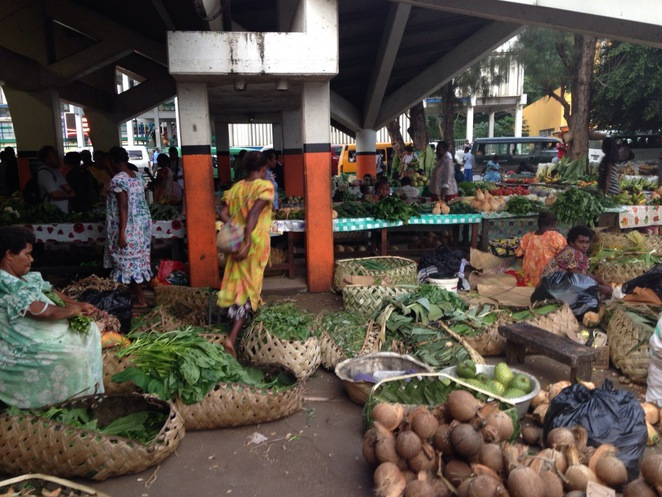 fresh food markets, vanuatu markets, local markets
