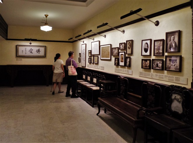 gallery in Sun Yat Sen Nanyang Memorial Hall Singapore