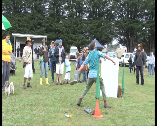 Gumboot Throws to win