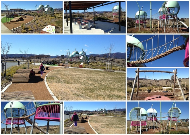 gumnut playground, googong, NSW, playgrounds, parks, new parks, table tennis tables, older kids,