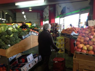 Fruit and vegetable Section