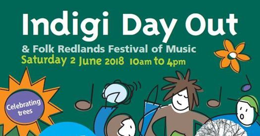Indigi Day Out, Redlands Folk Festival 2018, Indigiscapes, folk, music, bushwalks, environment, festival