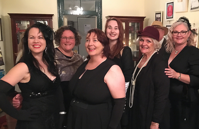 KSP Writers' Centre, Suzi Fox, Literary Dinner, Mine, Shannon Coyle, Katherine Sussanah Prichard