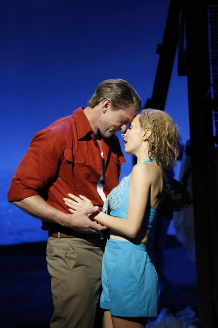 Lisa McCune and Teddy Tahu Rhodes in South Pacific <BR> <div style=