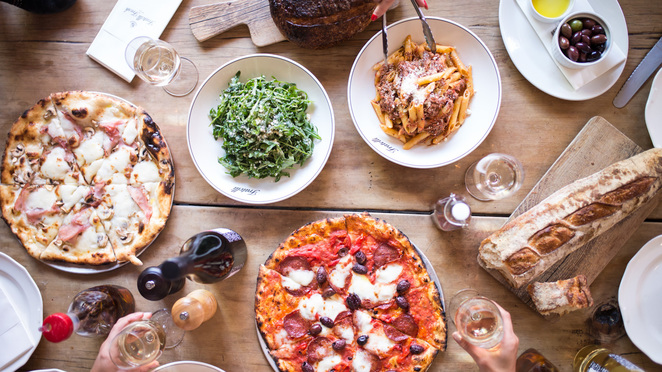 long lunch, fratelli fresh, bottomless lunches, boozy lunches