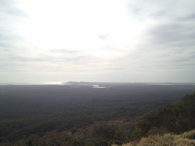 Looking towards Noosa Heads from the fire tower
