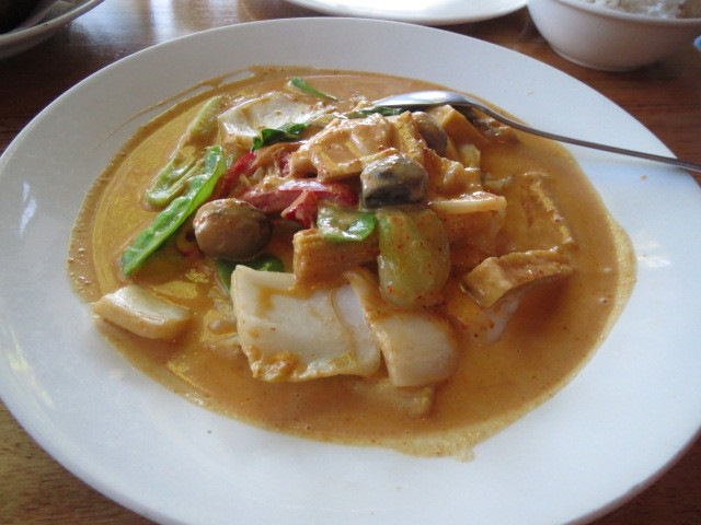 Madame Wu's Noodle Bar, Vegetarian Red Curry, Adelaide