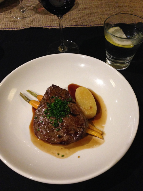 mercure steak, mercure sydney restaurant, mercure sydney food, mercure food