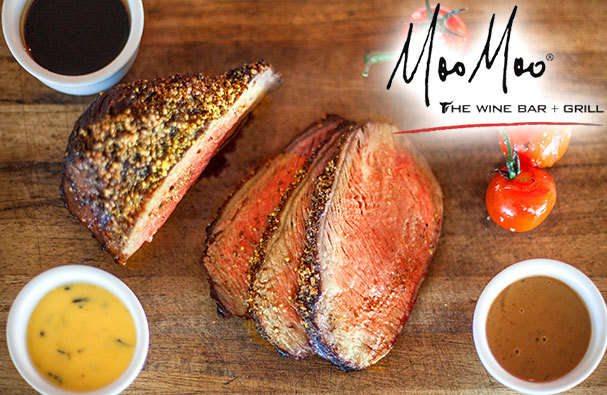 Moo Moo Bar and Grill Steakhouse Brisbane's biggest steaks Brisbane's best steaks wagyu rump