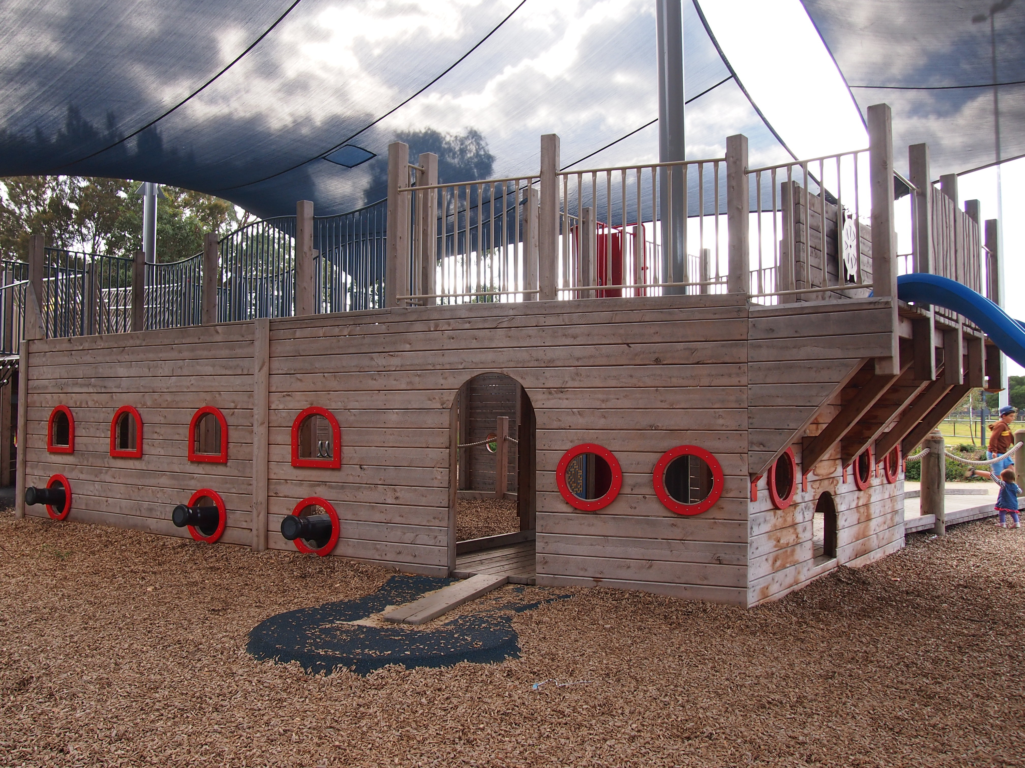 Pirate Ship Playground At Carrum Roy Dore Reserve Melbourne