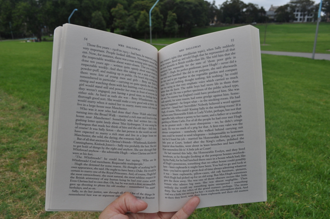 Reading at Prince Alfred Park