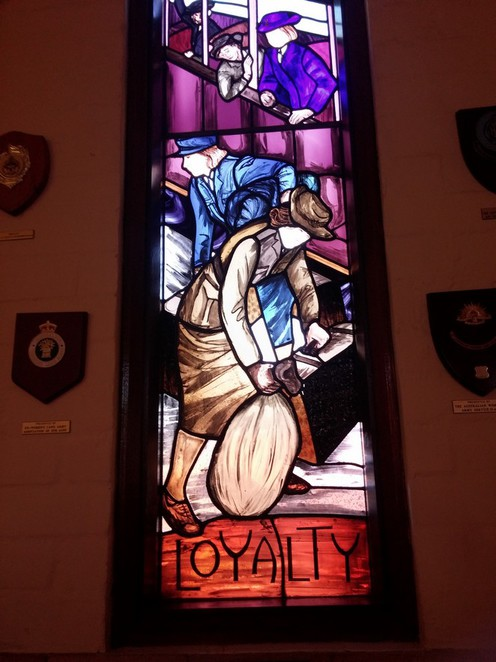 Repatriation General Hospital Chapel Stained glass windows Adelaide Daw Park