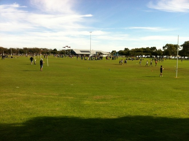 Sorrento oval, victoria