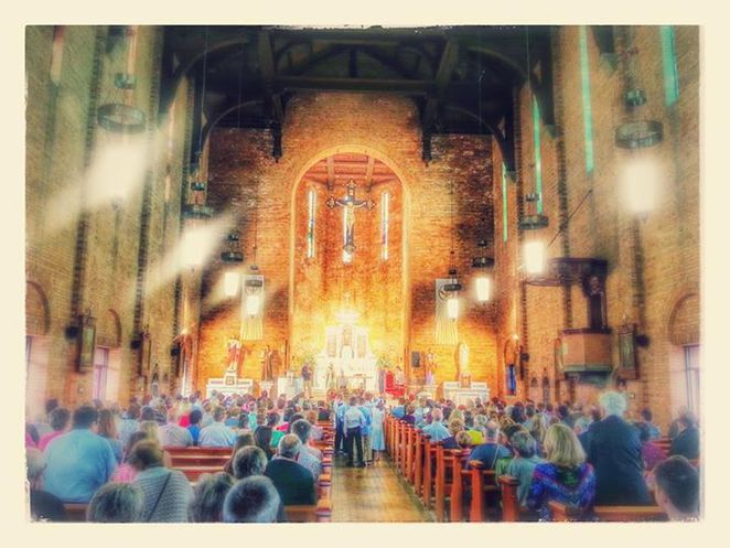 st brigids, 100 years on the hill, st brigid's red hill, brisbane open house weekend