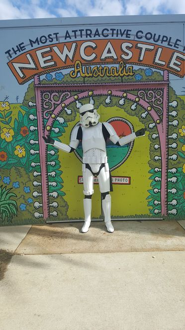 Star Wars, Stormtrooper, cafe, fun, costume, character