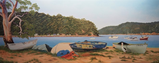 Sunday morning Patonga by Jim Flood. Image courtesy of Jim Flood.