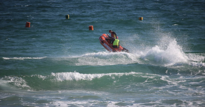 Surf Life Saving SA Inflatable Rescue Boat State Chamionships