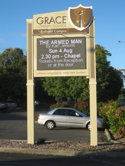 The Armed Man Concert at Grace