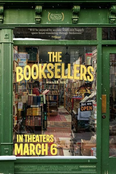 The booksellers, films to watch june 2020, new movies, documentaries