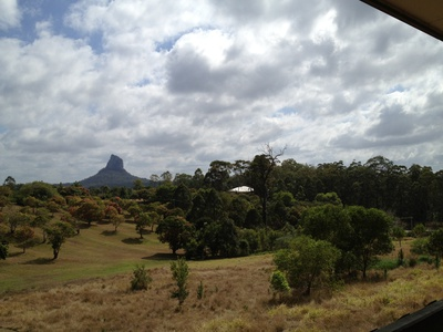 The view from The Lookout Cafe