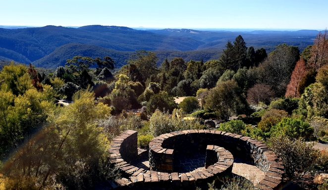 Views, nature, gardens, conservation, Blue Mountains, free