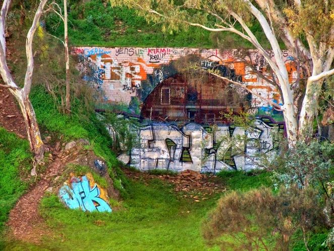 Watiparinga Reserve, Watiparinga, Wattiparinga, Eden Hills, Adelaide, railway, National Trust, Mitcham, South Australia, sleeps hill railway tunnel