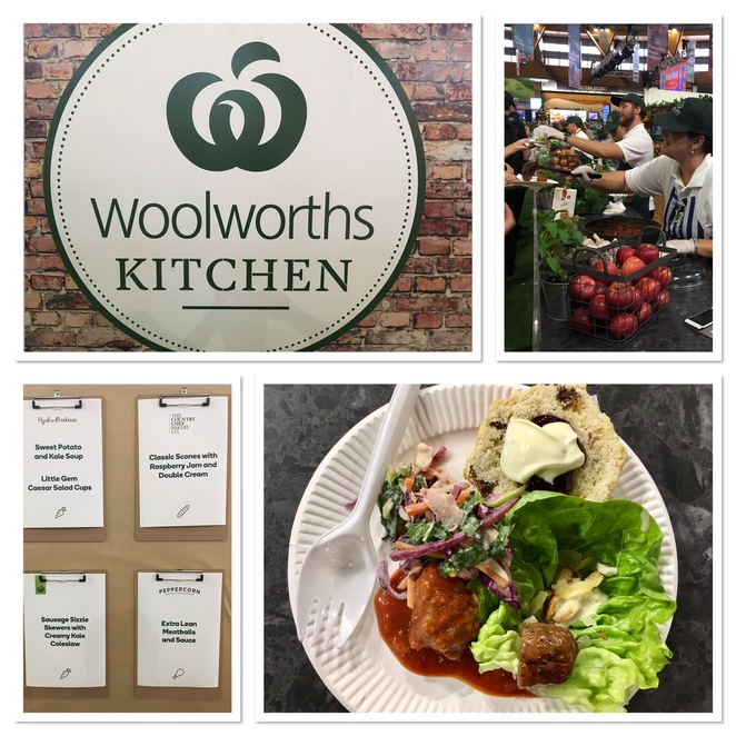Woolworths Tasting Plate, Sydney Royal Easter Show, Woolworths Freshfood Dome, Free Food
