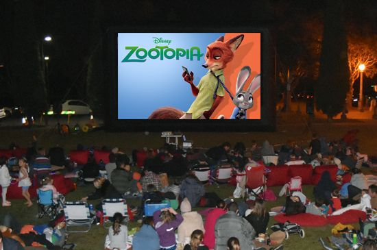 zootopia under the stars mosman council out and about free family movie outdoor