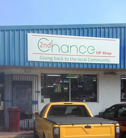 2nd Chance Op Shop Kelmscott, Kelmscott op shops, WA, Perth op shops, Armadale op shops, Railway Avenue