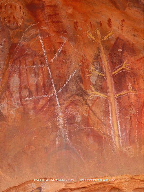 Aboriginal rock art Arkaroo