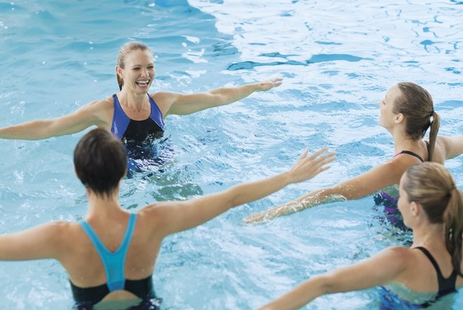 aqua aeroboics, canberra, king swim, swimming, exercise, ACT,